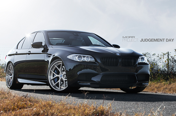 BMW M5 F10 от MORR Competition Wheels