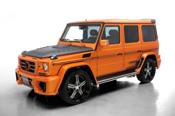 Mercedes G-Class Sports Line Black Bison Edition